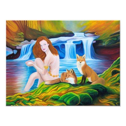 """The Sacred Spring"" Photographic Print Fotografías"