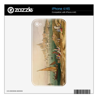 The Sacred Town and Temples of Dwarka, from Volume Decal For iPhone 4