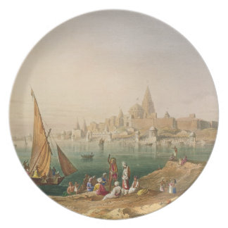 The Sacred Town and Temples of Dwarka, from Volume Plate