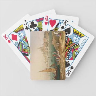The Sacred Town and Temples of Dwarka, from Volume Bicycle Card Deck