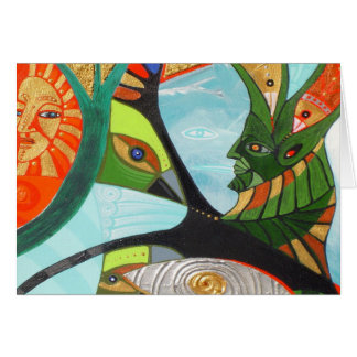 the sacred tree card