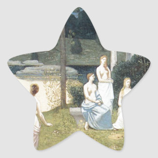 The Sacred Wood Cherished by the Arts Star Sticker