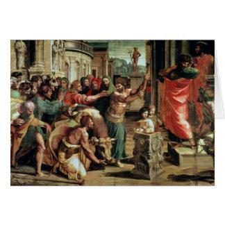 The Sacrifice at Lystra (cartoon for the Sistine C Card