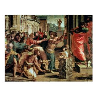 The Sacrifice at Lystra (cartoon for the Sistine C Postcard