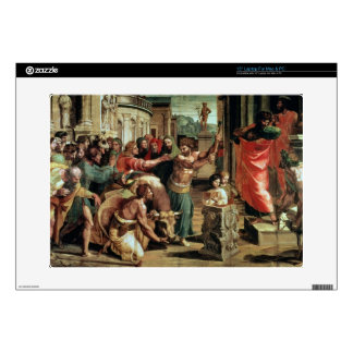 The Sacrifice at Lystra (cartoon for the Sistine C Decals For Laptops
