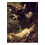 The Sacrifice of Abraham, 1635 Postcards