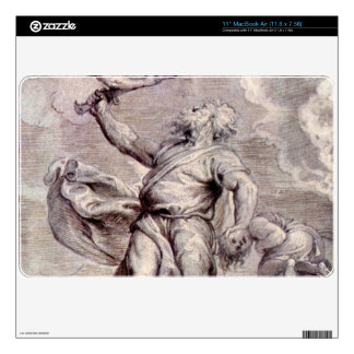 The sacrifice of Abraham by Paul Rubens Decal For The MacBook