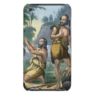 The Sacrifice of Cain and Abel, from a bible print Barely There iPod Cover