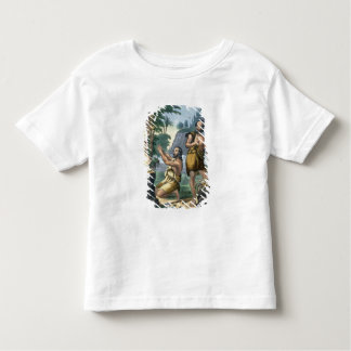 The Sacrifice of Cain and Abel, from a bible print Toddler T-shirt