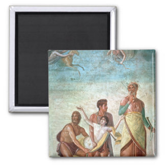 The Sacrifice of Iphigenia 2 Inch Square Magnet