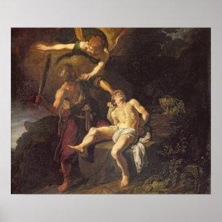 The Sacrifice of Isaac, 1616 Poster