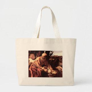 The sacrifice of Isaac Jumbo Tote Bag