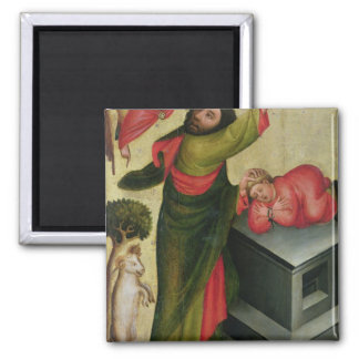 The Sacrifice of Isaac from the High Altar 2 Inch Square Magnet