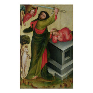 The Sacrifice of Isaac from the High Altar Poster
