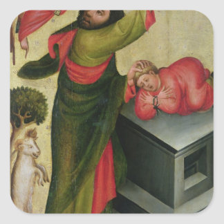 The Sacrifice of Isaac from the High Altar Square Sticker