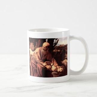 The sacrifice of Isaac Classic White Coffee Mug