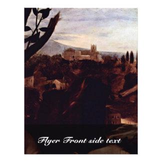 The Sacrifice Of Isaac S By Michelangelo Merisi Custom Flyer