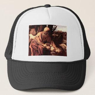 The sacrifice of Isaac Trucker Hat