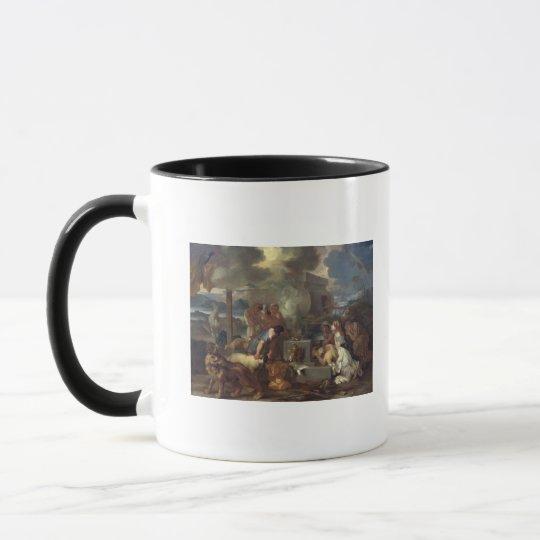 The Sacrifice of Noah, c.1640 Mug