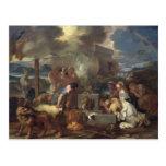 The Sacrifice of Noah, c.1640 Postcard