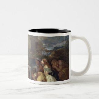 The Sacrifice of Noah, c.1640 Two-Tone Coffee Mug
