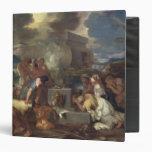 The Sacrifice of Noah, c.1640 Vinyl Binders
