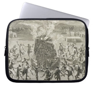 The Sacrifice to Quitchi-Manitou, or The Great Spi Laptop Sleeve