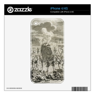 The Sacrifice to Quitchi-Manitou, or The Great Spi iPhone 4 Decals
