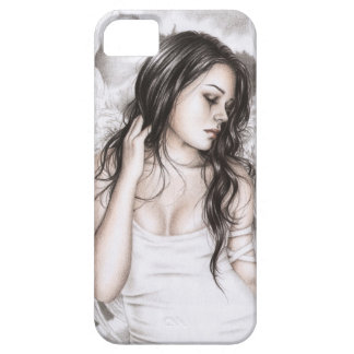 The Sad Angel iPhone Case