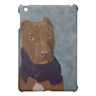 The sad pit bull cover for the iPad mini