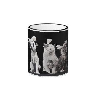 The Sad Trio Ringer Coffee Mug