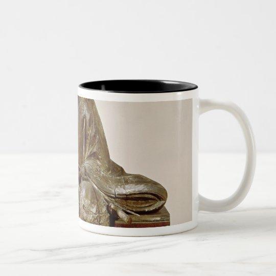 The Sadaijin in ceremonial costume Two-Tone Coffee Mug