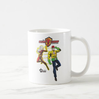 The Safe-T-Corp. Adventures Coffee Mug