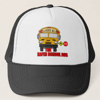 The safer school bus trucker hat