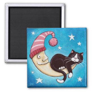 The Safest Place for a Cat Nap Magnet