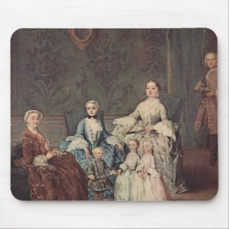 The Sagredo Family by Pietro Longhi Mouse Pads