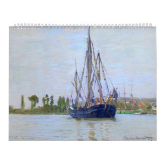 The Sailing Boat by Claude Monet Calendar