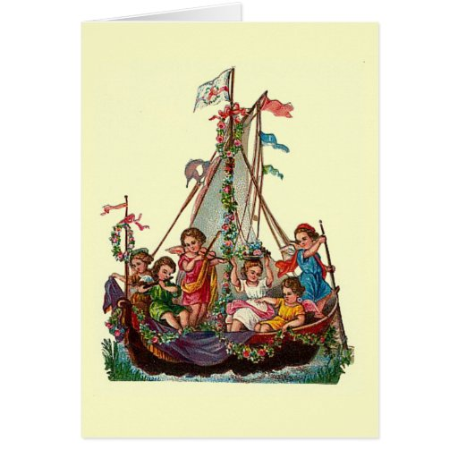 The Sailing Boat of Angels Card