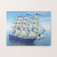 The sailing Ship jigsaw Puzzle