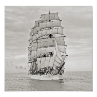"The Sailing Ship ""Viking"" Poster"