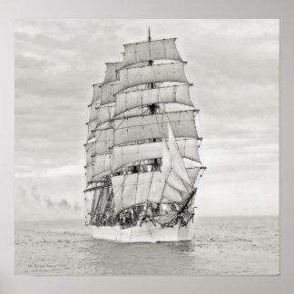 The Sailing Ship Viking Poster