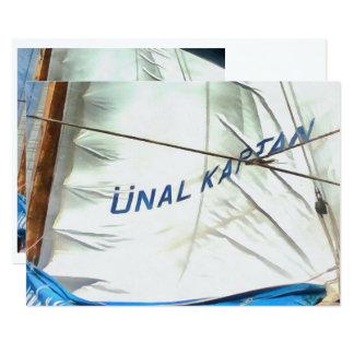 The Sails Of Unal Kaptan Card
