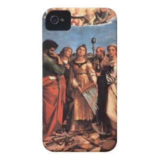 the Saint Cecilia Altarpiece iPhone 4 Case-Mate Case