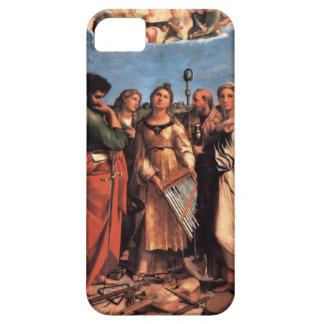 the Saint Cecilia Altarpiece iPhone SE/5/5s Case