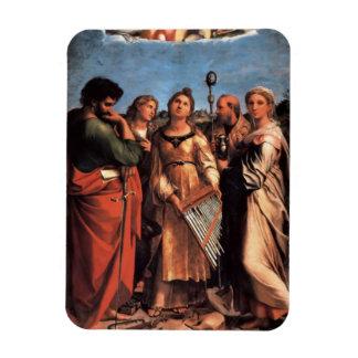 the Saint Cecilia Altarpiece Magnet