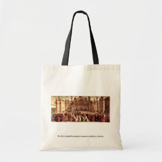 The Saint Mark Preached In Alexandria Canvas Bag