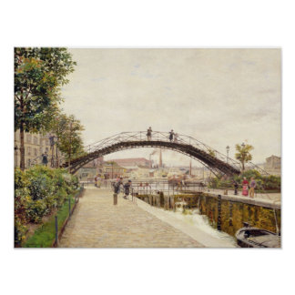 The Saint-Martin Canal Poster