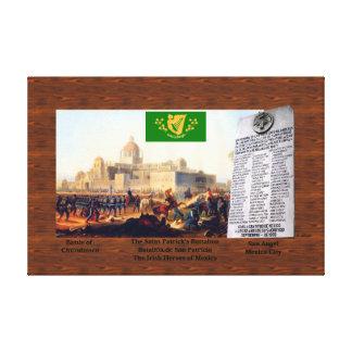 The Saint Patrick's Battalion Canvas Print