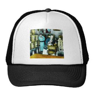 The Sake Merchants of Old Japan Vintage Hand Tint Trucker Hat