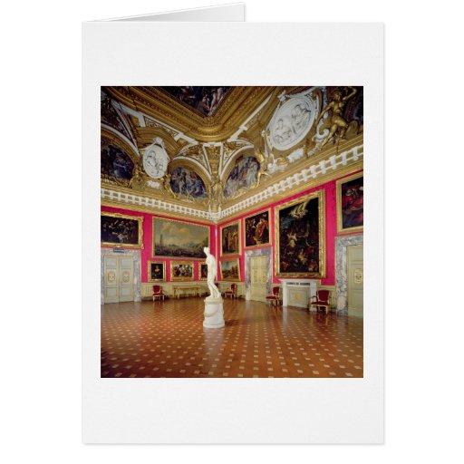 The 'Sala di Venere' (Hall of Venus) containing th Greeting Card